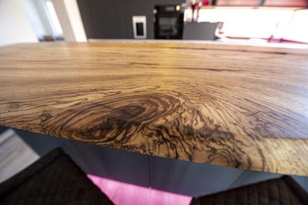 Tischplatte Massiv Nussbaum