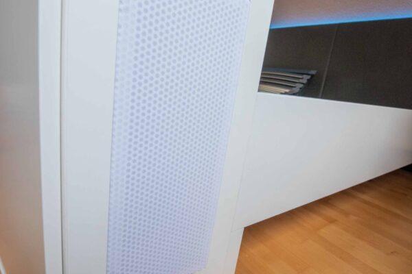 Lautsprecherbox integriert