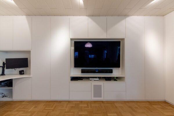 Multimedia-Wohnwand